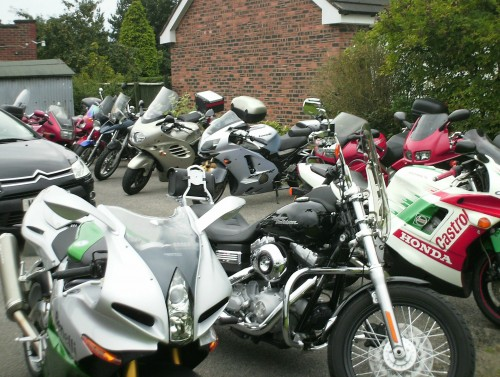 Bikers Church loves bikes